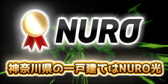 神奈川県の一戸建てはNURO光が一番おすすめ