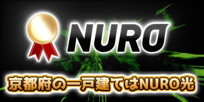 京都府の一戸建てはNURO光