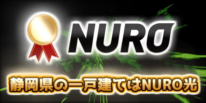 静岡県の一戸建てはNURO光