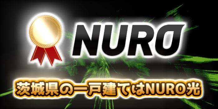 茨城県の一戸建てはNURO光が一番おすすめ