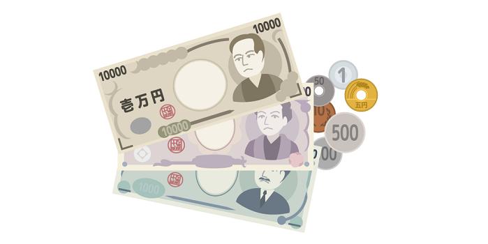 現金(日本円)の画像